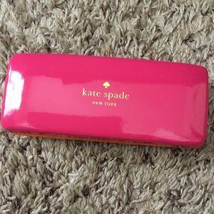Kate Spade Eye Sunglasses Clamshell Case Pink